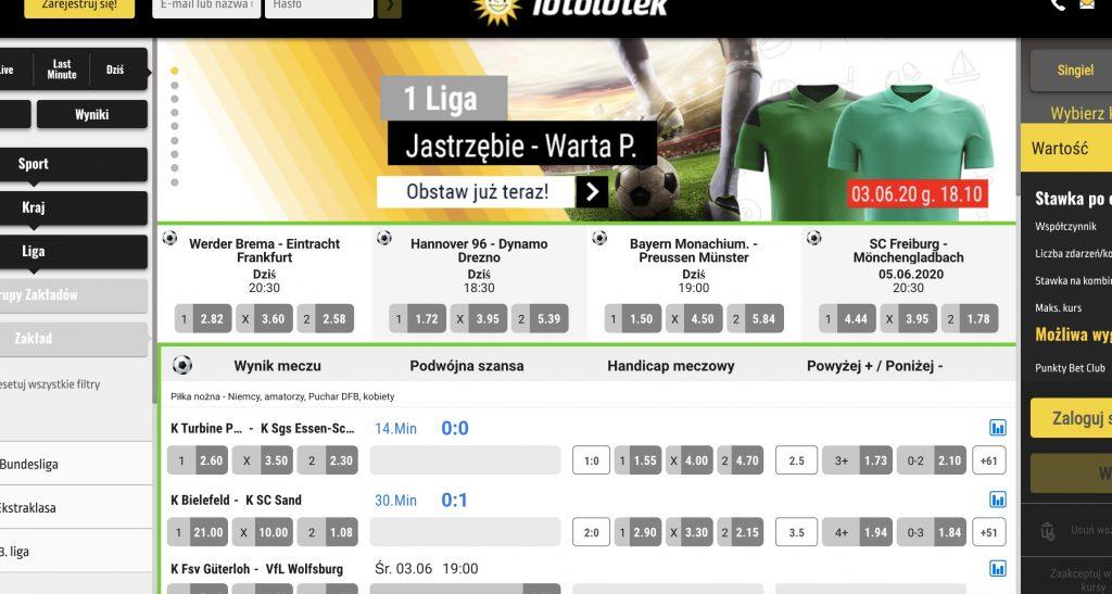 Totolotek to legalny bukmacher w Polsce?