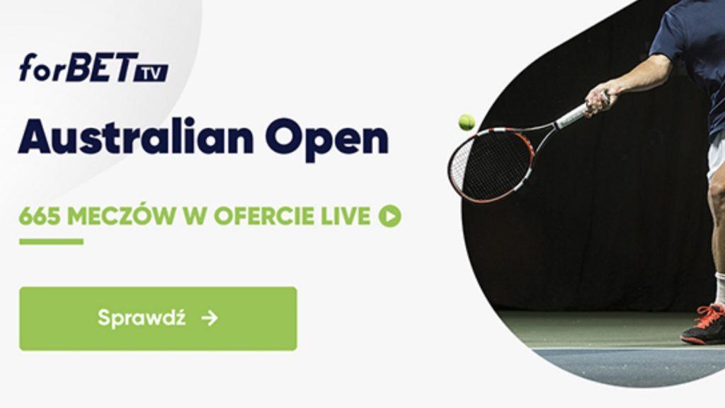 Tenis darmowe mecze dostępne w Forbet!