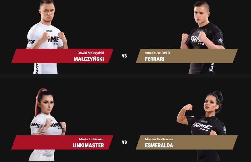 Faworyci FAME MMA 3. Aktualne kursy bukmacherskie