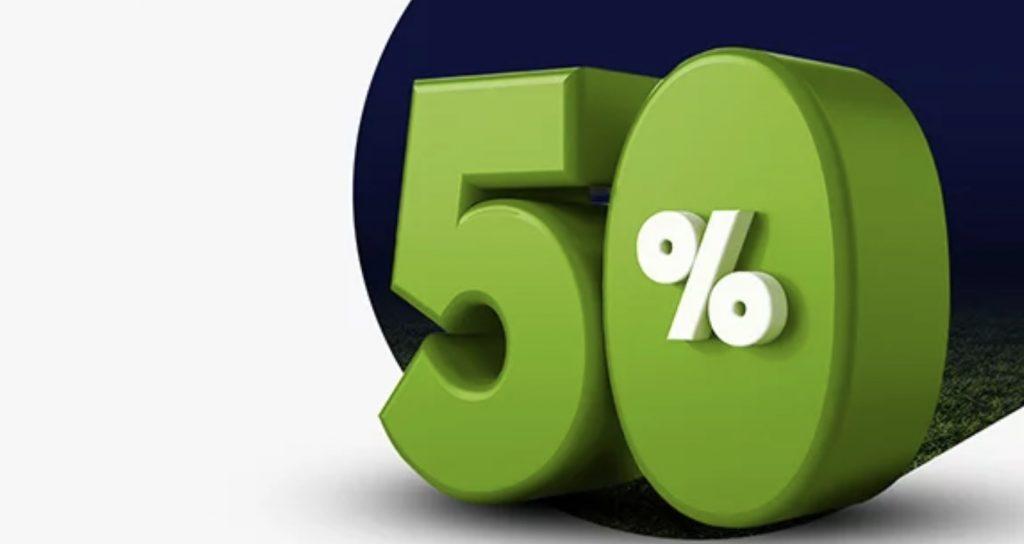 50% do 500 PLN dla wszystkich graczy Forbet!