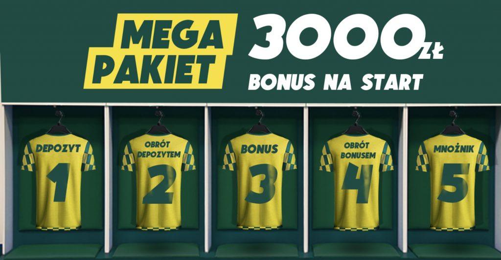 Betfan promocja na dzień dobry, czyli 3000 PLN dla nowych!