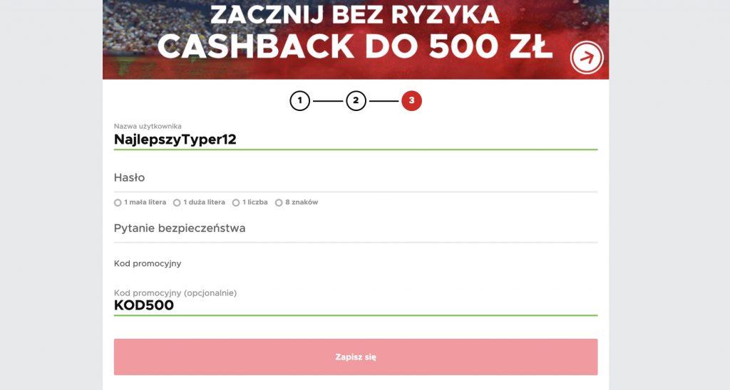 BetClic bonus na start - 500 PLN bez ryzyka!