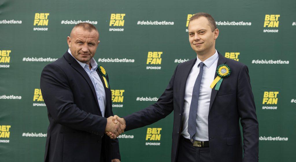 Betfan i jego nowy ambasador, Mariusz Pudzianowski!